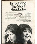 1967 Vanquish Pain Reliever PRINT AD Introducing the Short Headache - $11.69