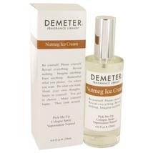 Demeter Nutmeg Ice Cream Cologne Spray 4 Oz For Women  - $29.00