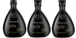 Amazon Series D'Oro 24K Gold Age-Defying Shampoo, Conditioner & Mask 3 PC Set