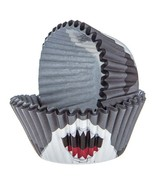 Shark Party Baking Cups Birthday Party Supplies Kids Party Accessories 5... - $9.40
