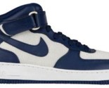 Nike Air Force 1 Mid - Men's Binary Blue/Binary Blue/Summit White 15123412
