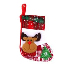 (04)Christmas Stocking Decorations for Home Christmas Tree Ornaments Dec... - $14.00