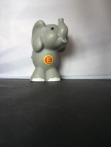 Elephant Fisher Price Little People A  Z ABC ZOO Alphabet Replacement Animal E - $4.94
