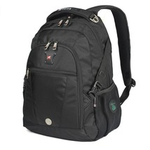 "BDF High Quality Men Swisswin Black Business Backpack Swiss Military 15""... - $48.69"