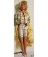 Vintage Barbie HOLLYWOOD HAIR blonde doll dressed - $49.99