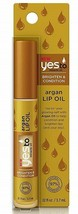 Yesto Argan Lip Oil Brighten & Condition .12 oz New  - $13.85