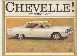 1964 Chevelle by Chevrolet Sales Brochure Malibu Super Sport 300 Station... - $11.88