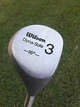 Wilson Dyna-Sole Fairway Wood 3 (16 Degree) - $21.02