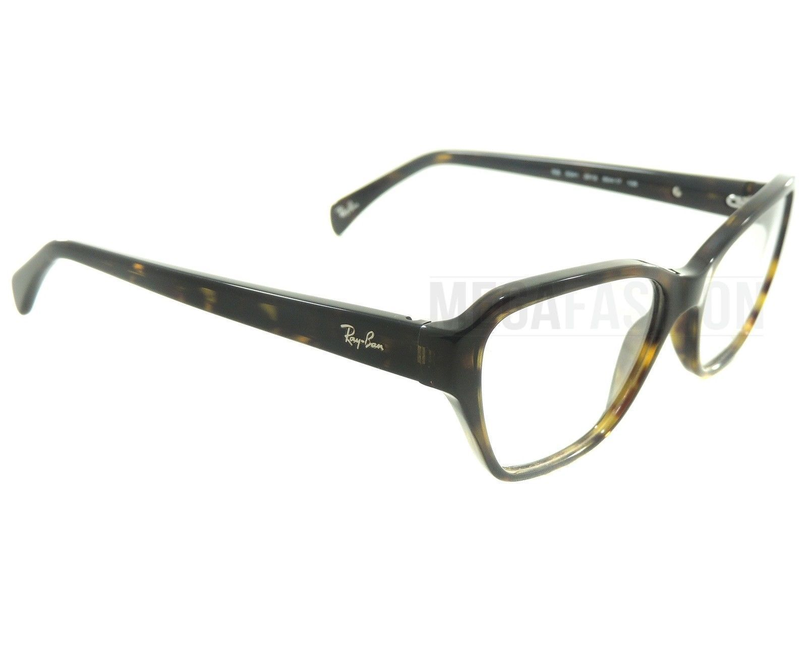816f6bc312d84 ... New Ray Ban Eyeglasses RB 5341-2012 Glossy Havana Acetate 53 17 135  Authentic