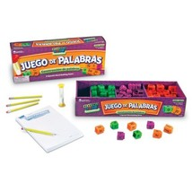 Learning Resources Juego de Palabras Spanish Reading Rods Word Game - $32.40
