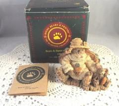 Charlotte & Bebe The Gardeners Figurine Boyds Bears & Friends #2229 Box ... - $14.00
