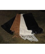 Set or 4 scarves, shawls made of alpacawool fabric - $68.00
