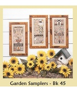 Garden Samplers REPRINT cross stitch chart Prai... - $10.80