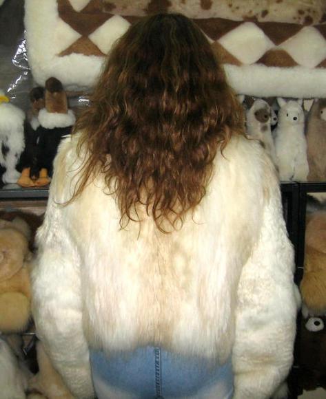 Fur Jacket, Babyalpaca pelt, outerwear