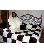 Set of fur bedspread,pilows and snake, alpaca pelt  - $2,050.00