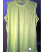 New Balance Safety Green Small N7117 Ndurance Athletic Workout T-Shirt v... - $9.50