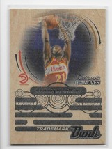 2006-07 Topps Trademark Moves Dunk WOOD Dominique Wilkins Parallel Card-... - $3.17