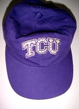 TCU Horned Frogs Big 12 NCAA Adult Unisex Purple Baseball Cap Hat One Size - $22.76