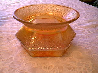 Primary image for CARNIVAL GLASS LADIES SPITTOON