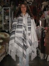 Poncho, Cape pure Alpaca Wool, peruvian Outerwear  - $125.00