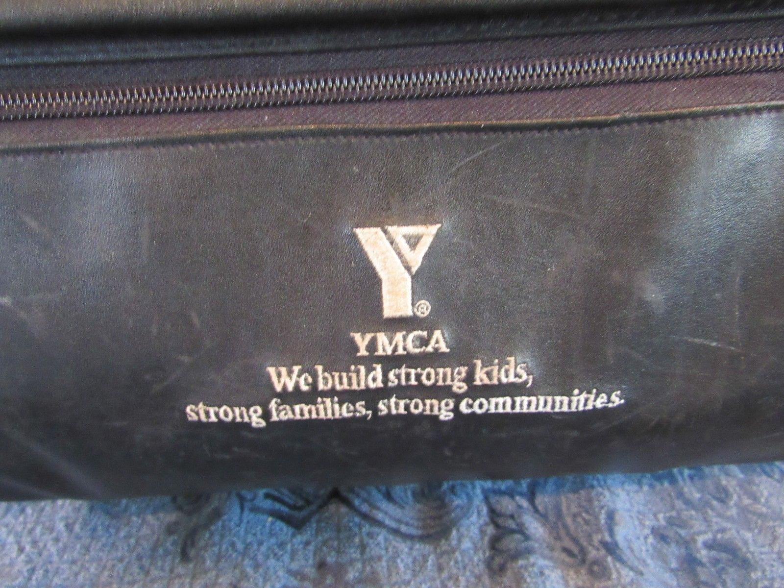 """YMCA Executive Laptop Travel Bag Rolling Handle Business Briefcase 16"""""""