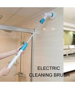 Turbo Scrub Electric Cleaning Brush Wireless Charging Adjustable Waterpr... - $46.60