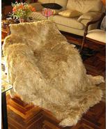 Fur bedspread,Suri Alpaca Fur,pelt Planket,King size  - $1,515.00