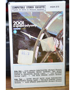 2001 A SPACE ODYSSEY ~ SOUNDTRACK ~ 1968 CASSETTE TAPE ~ CLAM SHELL CASE... - $19.55