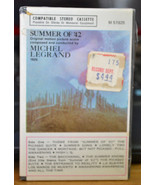 SUMMER OF '42 SOUNDTRACK BY MICHEL LEGRAND WARNER Cassette M 51925 Seale... - $48.95