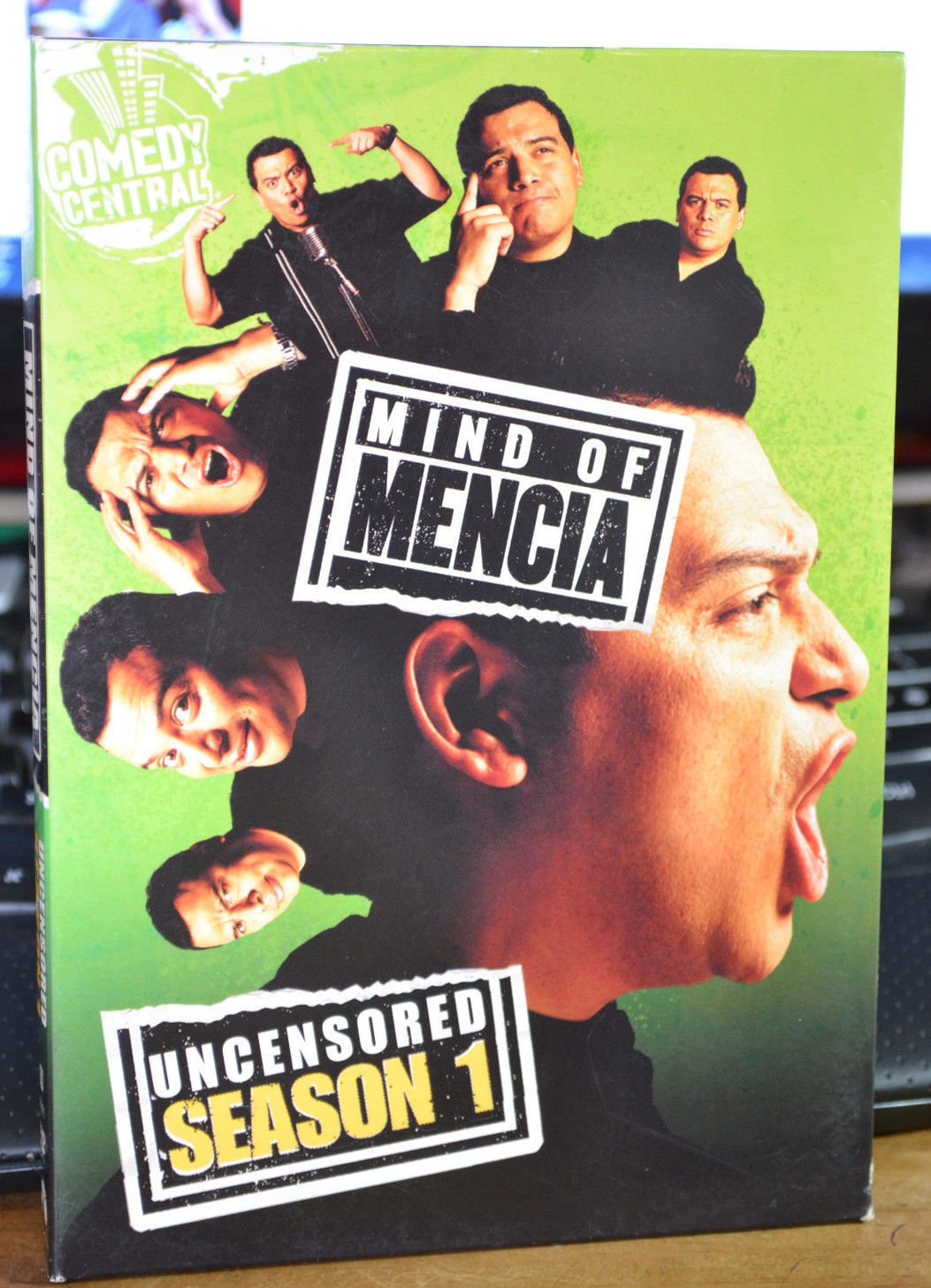 Mind of Mencia - Uncensored Season 1 (DVD, 2006, 2-Disc Set, Checkpoint)