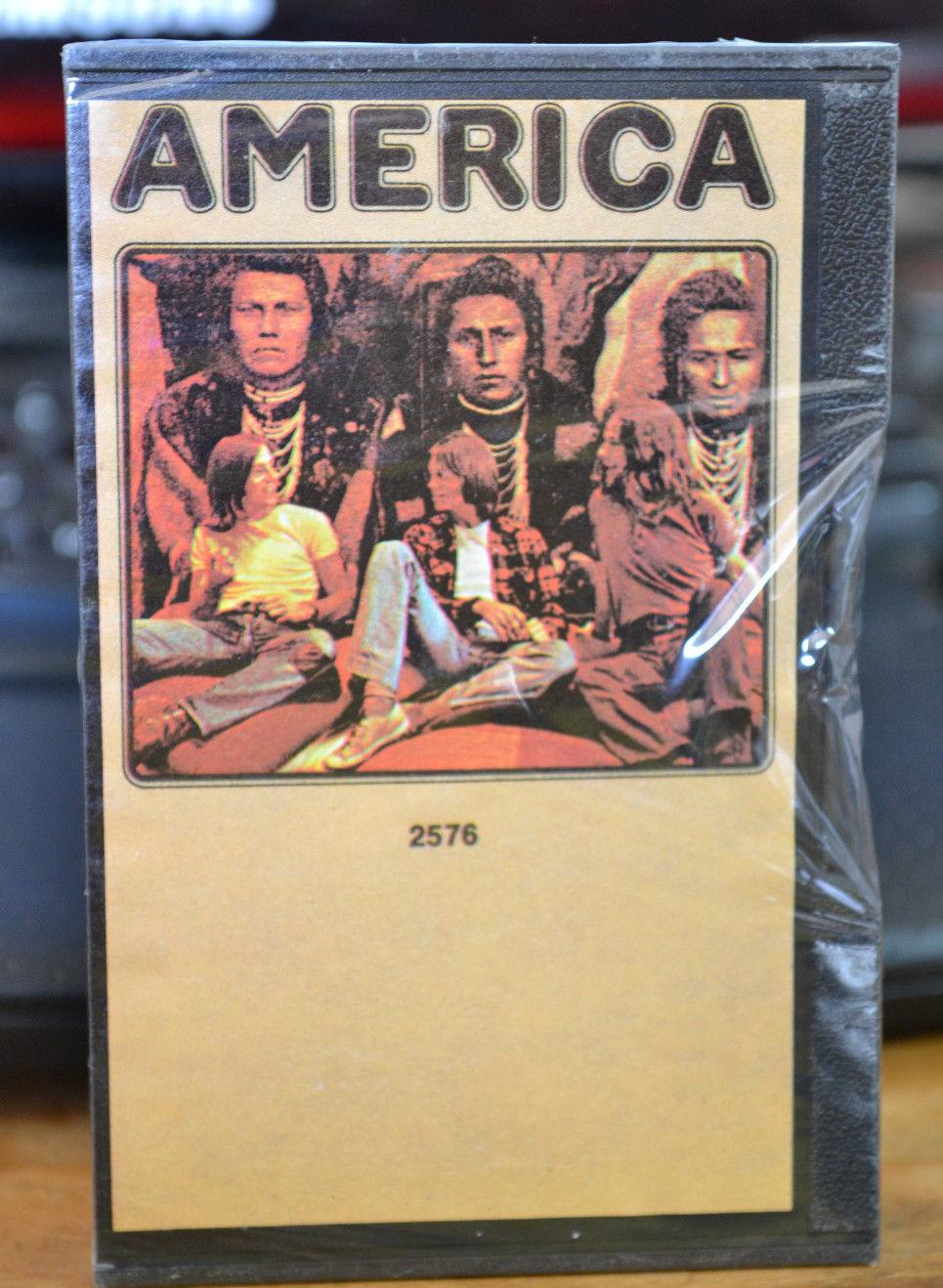 AMERICA - America - 52576 - Factory Sealed 1972 Pressing - Warner Brothers