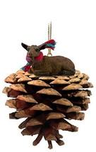 Conversation Concepts Goat Brown Pinecone Pet Ornament - $14.99