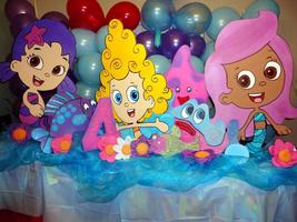 Bubble Guppies Birthday Party  Photo Props Stan... - $49.99
