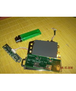 MICRON TRANSPORT ZX TOUCHPAD LED BOARD ASSEMBLY WITH CABLES - $8.99