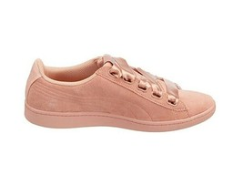 Puma Womens Vikky Ribbon SD Shoes Coral Pink Size UK 6 - $54.49