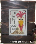 Monday Morning Motto cross stitch chart Designs by Lisa - $6.00