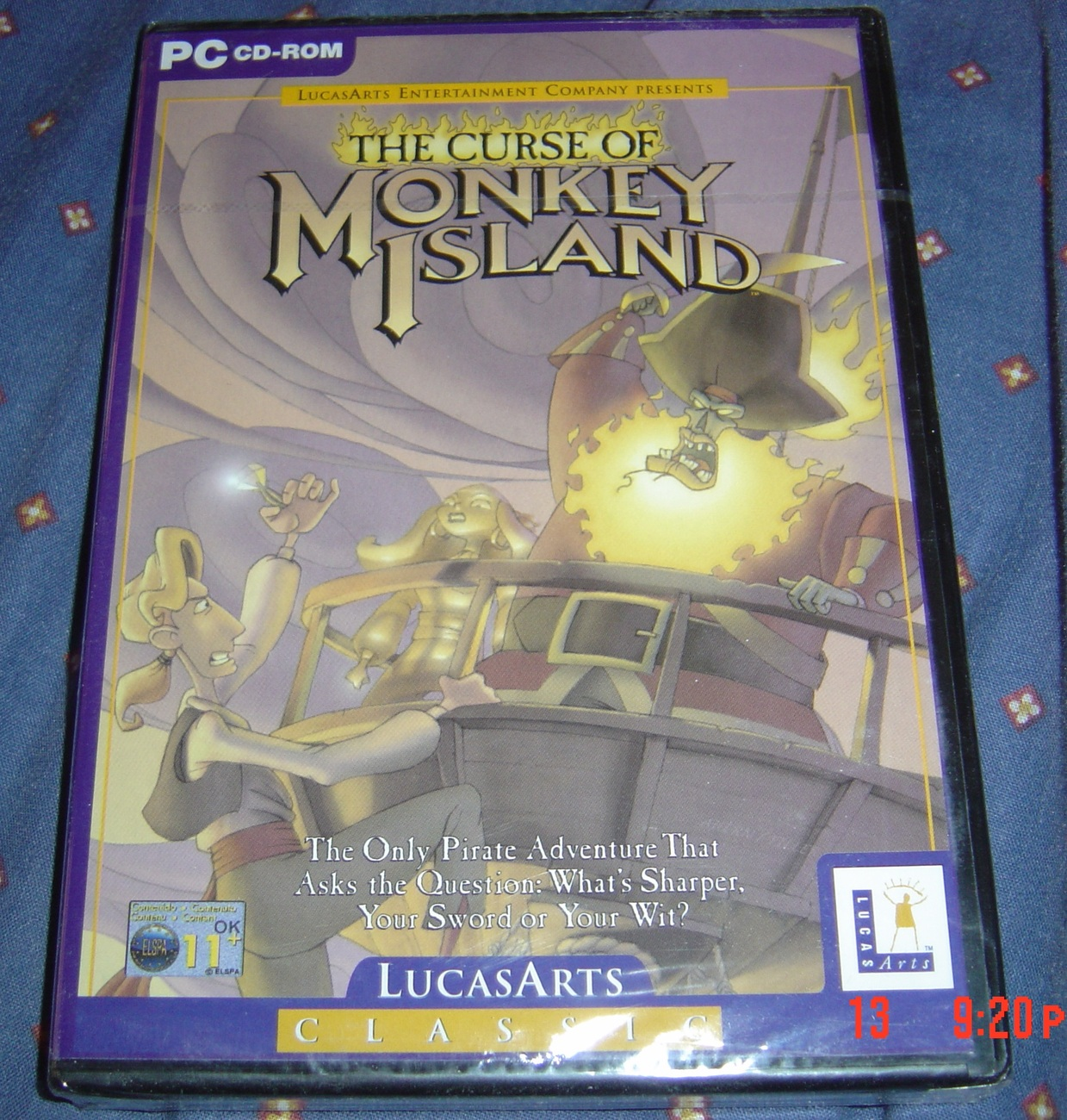 THE CURSE OF MONKEY ISLAND NEW AND SEALED