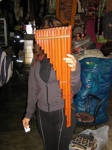 Primary image for Toyo Instrument, Panflute, Instrument made in Bamboo Tubes