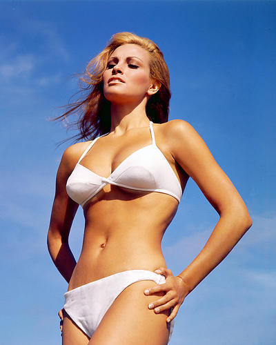 RAQUEL WELCH POSTER 24X36 IN WHITE BIKINI 1960s