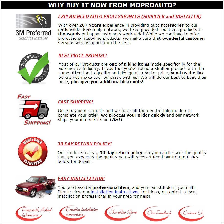 2012 JAVELIN Camaro Graphics Decals SIDE STRIPES 3M - Premium 3M Vinyl 369
