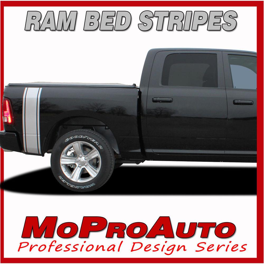 Dodge Ram Rumble Truck Bed Panel 2010 Vinyl Graphics Decals - 3M Pro Stripes P24