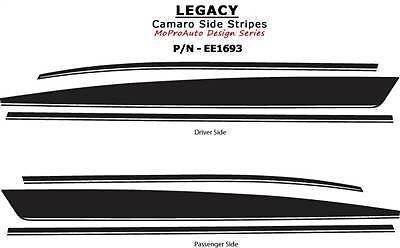 2010 Camaro LEGACY Yenko Side 3M Pro Vinyl Grade Stripes Decals SS 284 RS