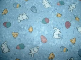 Easter Bunny Eggs Teresa Kogut Bears 'n Hares MM Fabric - $280,96 MXN