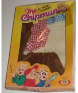 "Vintage Alvin & The CHIPMUNKS 10"" plush toy COWBOY Outfit, 1983 IDEAL - $49.99"