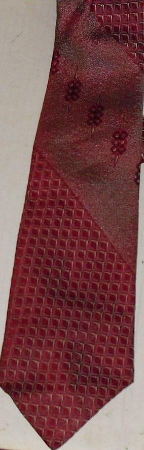 Vintage QIANA Art Deco nylon Necktie TIE