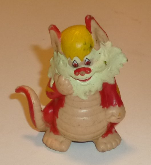 "Vintage 1985 LJN Telepix THUNDERCATS Snarf PVC Figure 3"""