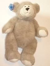 """Cute Plush beige TEDDY BEAR jointed 13"""", APPLAUSE - $64.99"""