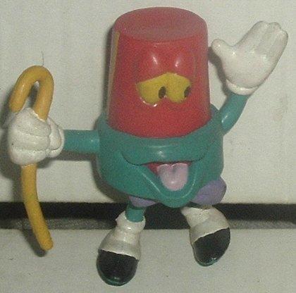 Who Framed ROGER RABBIT (?) Bendy PVC figure TOON LIGHT Disney