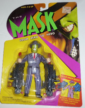 1995 Kenner The MASK from Zero to Hero QUICK DRAW action Figure MOC - $23.99
