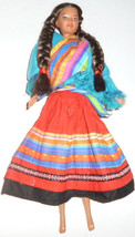 BARBIE Doll DOTW Dolls of the World PERUVIAN dressed, NO baby - $33.99